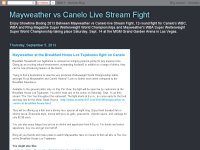 Mayweather vs Canelo Live Stream Fight