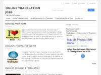 Onliine Translation Jobs -Get Paid To Translate
