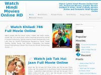 Watch Hindi Movies Online HD