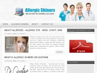 Allergic Shiners