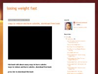 losing weight fast