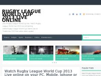 RUGBY LEAGUE WORLD CUP 2013 LIVE ONLINE HD TV FREE