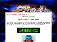 NFL LIVE STREAMING ONLINE Telecast HD TV
