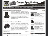 Camera Specification