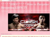 Rios vs Pacquiao live streaming