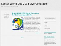Soccer World Cup 2014 Live Coverage