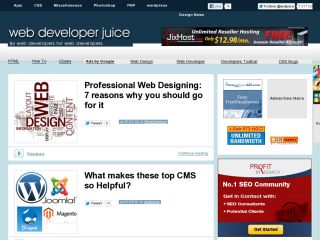 By web developers for web developers