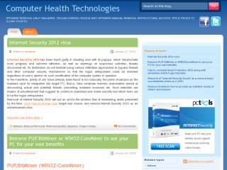 Computer Health Technologies - free virus removal