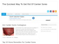 The Quickest Way To Get Rid Of Canker Sores