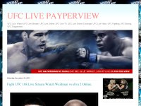 UFC 168 Live Stream Watch Weidman vs Silva Fight