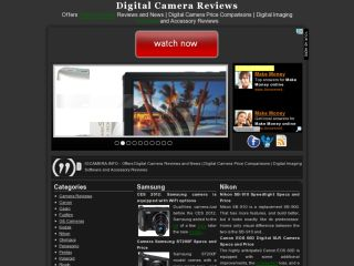 Digital Camera Reviews