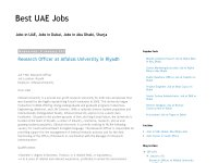 Best UAE Jobs