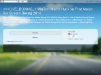 ==>LIVE_BOXING_> WaTcH Marco Huck vs Firat Arslan live Stream Boxing 2014
