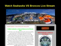 Seattle Seahawks vs Denver Broncos live Stream 2014
