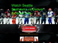 Watch Seattle Seahawks vs Denver Broncos Live