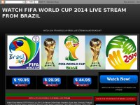 WATCH FIFA WORLD CUP 2014 LIVE STREAM FROM BRAZIL