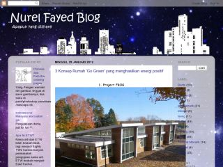 Nurel Fayed Blog