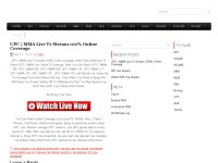 UFC / MMA Live Tv Stream 100% Online Coverage