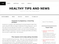 Healthy Tips and news