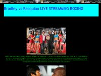 Bradley vs Pacquiao Live Online(HBO)Boxing