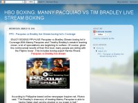 PPV : Pacquiao vs Bradley live Stream boxing hd tv
