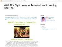 MMA PPV Fight:Jones vs Teixeira Live Streaming UFC 172.