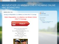 MAYWEATHER VS MAIDANA LIVE STREAMING ONLINE HBO BOXING PPV
