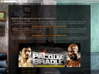 Boxing Timothy Bradley vs Manny Pacquiao Live Stre