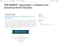 THE MOMENT: Mayweather vs Maidana Live Streaming World Title Bout