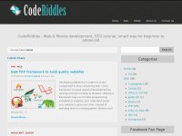 CodeRiddles