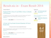 Results.nic.in- Exam Results