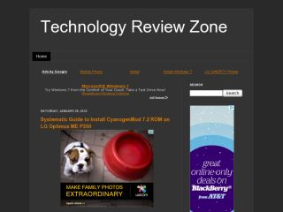 Technology Review Zone : Gadgets freaks
