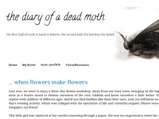 the diary of a dead moth