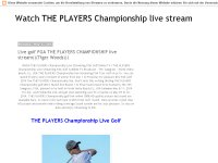The Players Championship 2014 Live Stream