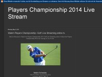 The Players Championship Live Stream tv