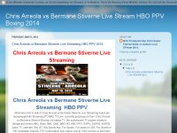 Chris Arreola vs Bermane Stiverne Live Streaming HBO PPV 2014