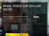 BRAZIL WORLD CUP 2014 LIVE ONLINE