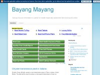 bayang mayang vehicle