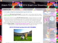 Watch FIFA World Cup 2014 Brazil Live Streaming On