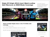 State Of Origin 2014 Live|| Watch online QLD Maro