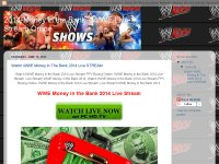 2014-Money in the Bank : WWE Live Stream Online