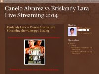 Canelo Alvarez vs Erislandy Lara Live Streaming 20