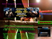 Watch PPV Boxing: Bryant Jennings vs Mike Perez Li