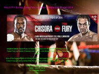 Watch PPV Boxing: Tyson Fury vs Dereck Chisora Liv