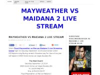 MAYWEATHER VS MAIDANA 2 LIVE STREAM