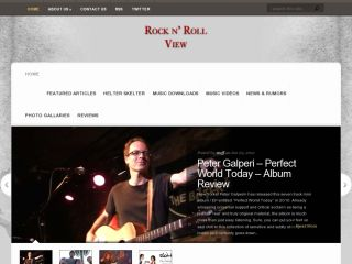 Rock n Roll View - Reviews and News