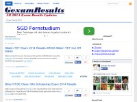 Exam Results 2014 2015, 10th 12th Board Results