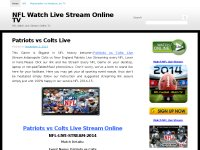 NFL Watch Live Stream Online TV