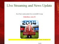 LIve Streaming and News Update