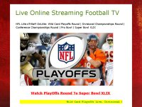 Live Online Streaming Football TV